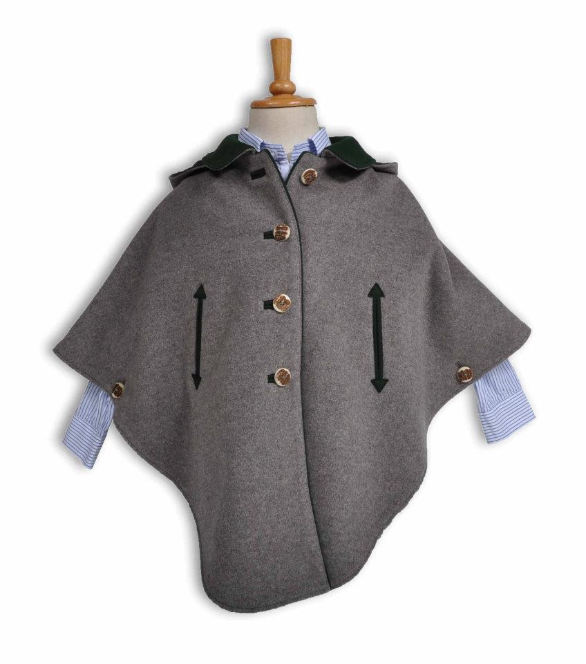 Grey cape